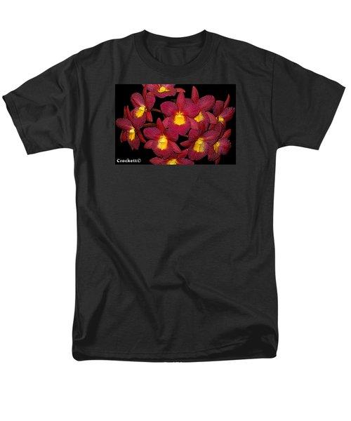 Orchid Floral Arrangement Men's T-Shirt  (Regular Fit)