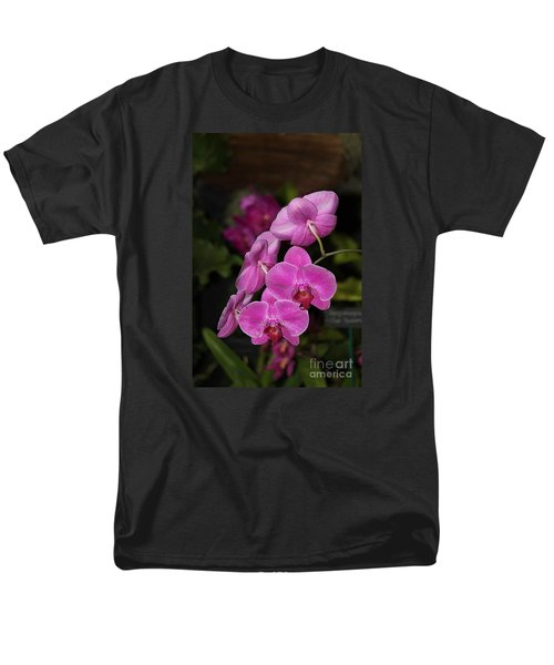 Orchids Alicia Men's T-Shirt  (Regular Fit) by The Art of Alice Terrill
