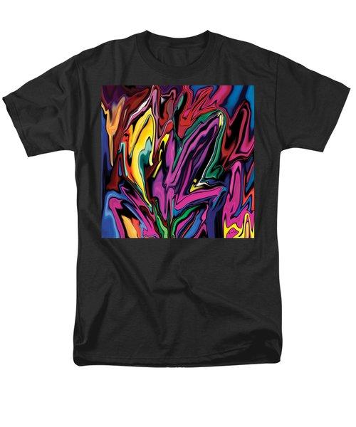 Orchids Men's T-Shirt  (Regular Fit) by Rabi Khan