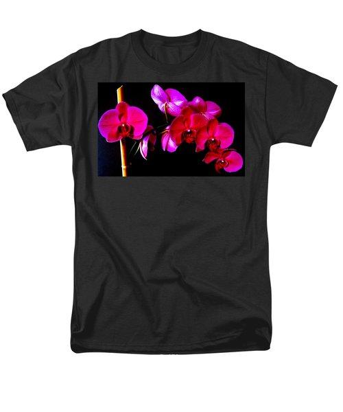 Orchids Men's T-Shirt  (Regular Fit) by Ron Davidson