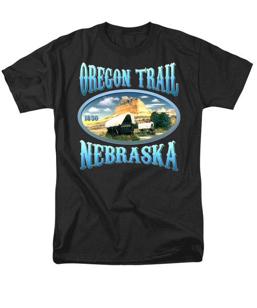 Oregon Trail Nebraska - Tshirt Design Men's T-Shirt  (Regular Fit)