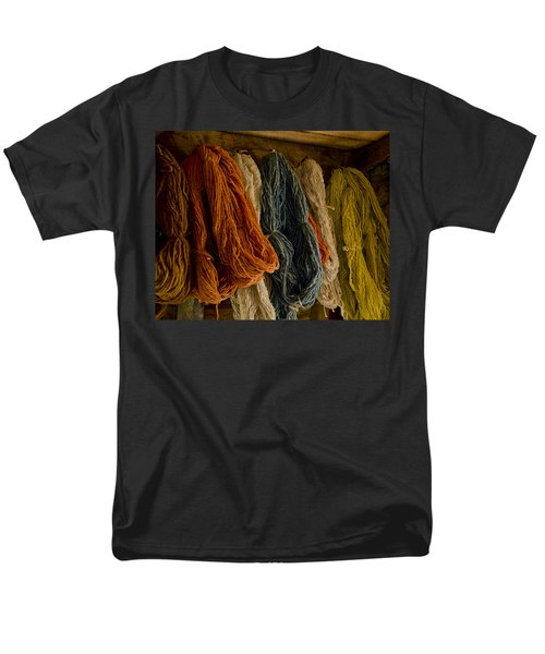 Organic Yarn And Natural Dyes Men's T-Shirt  (Regular Fit) by Wilma  Birdwell