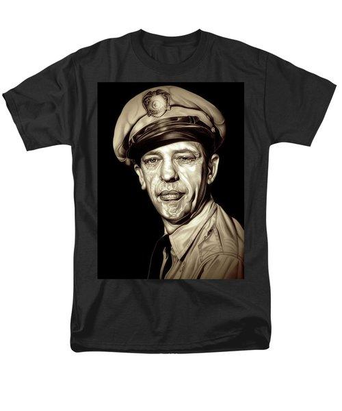 Original Barney Fife Men's T-Shirt  (Regular Fit) by Fred Larucci