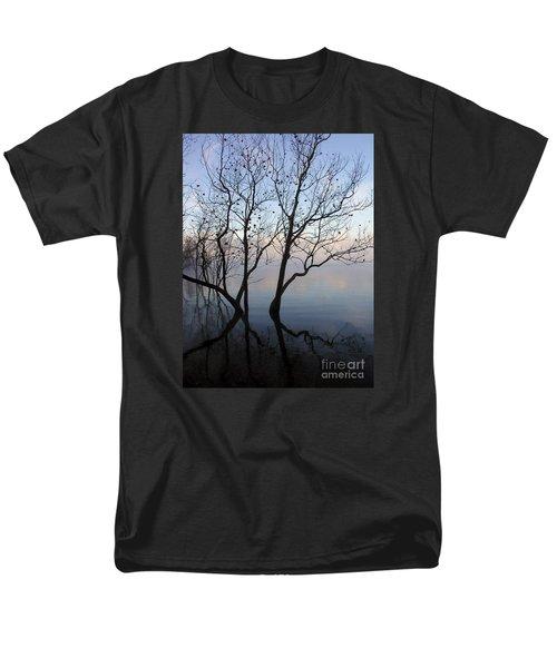 Original Dancing Tree Men's T-Shirt  (Regular Fit) by Paula Guttilla