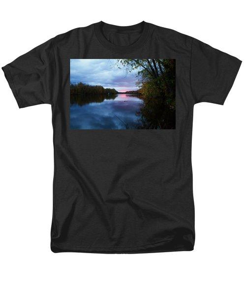 Oswego River Men's T-Shirt  (Regular Fit) by Everet Regal