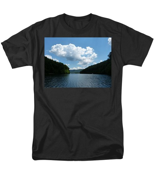Men's T-Shirt  (Regular Fit) featuring the photograph Out Of The Cove by Donald C Morgan