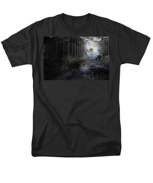 Out Of The Storm Men's T-Shirt  (Regular Fit) by Gray  Artus
