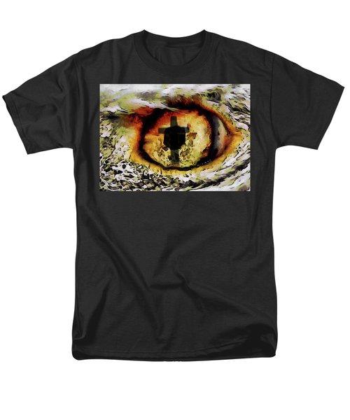 Men's T-Shirt  (Regular Fit) featuring the digital art Overwhelmed Remember Him by Ernie Echols