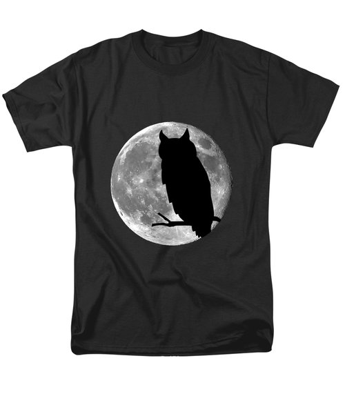Owl Moon .png Men's T-Shirt  (Regular Fit) by Al Powell Photography USA