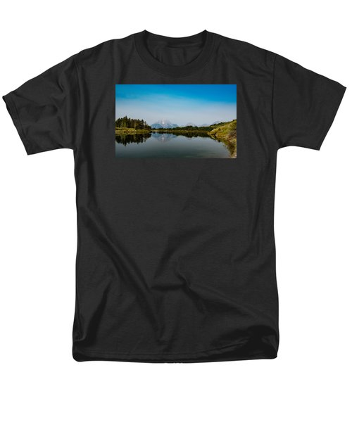 Men's T-Shirt  (Regular Fit) featuring the photograph Oxbow Bend by Cathy Donohoue