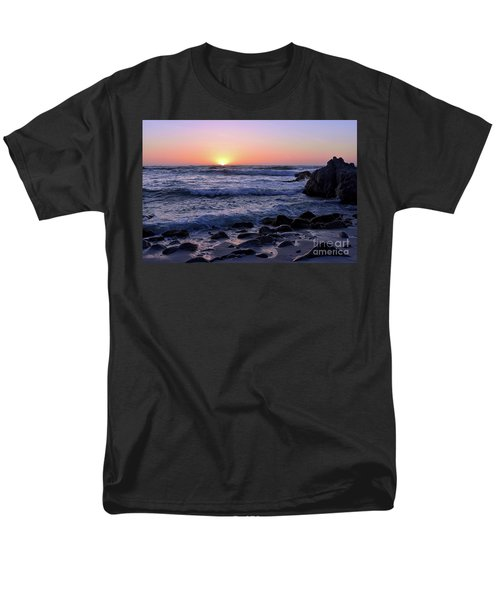 Men's T-Shirt  (Regular Fit) featuring the photograph Pacific Twilight by Gina Savage