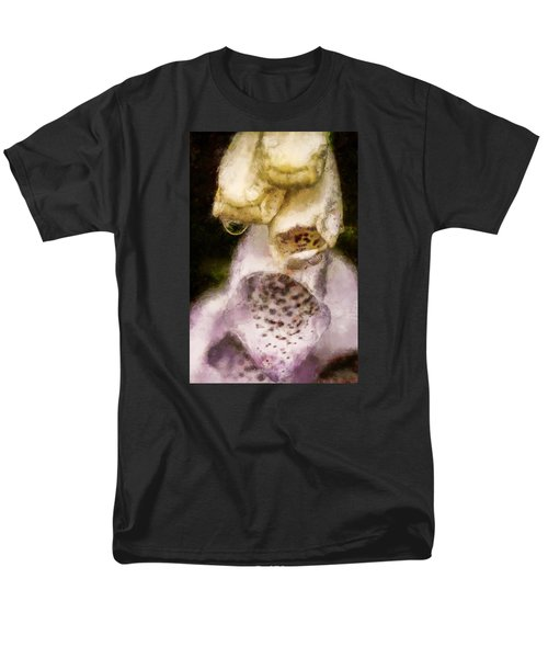 Men's T-Shirt  (Regular Fit) featuring the digital art Painted Droplets by Cameron Wood