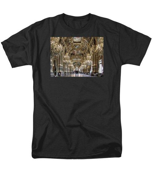 Palais Garnier Grand Foyer Men's T-Shirt  (Regular Fit) by Alan Toepfer