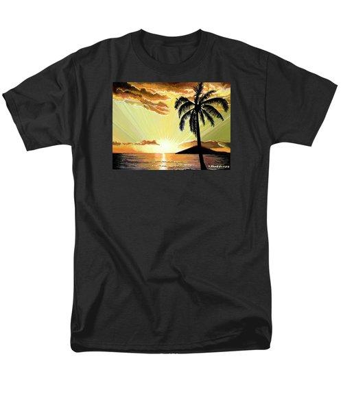 Palm Beach Sunset Men's T-Shirt  (Regular Fit)