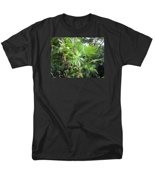 Palm Tree Men's T-Shirt  (Regular Fit) by Kay Gilley