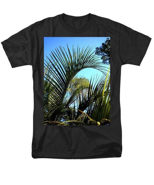 Men's T-Shirt  (Regular Fit) featuring the painting Palmetto 2 by Renate Nadi Wesley