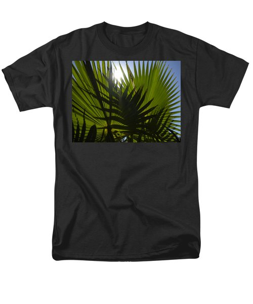 Men's T-Shirt  (Regular Fit) featuring the photograph Palmetto 3 by Renate Nadi Wesley