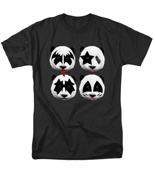Panda Kiss  Men's T-Shirt  (Regular Fit)