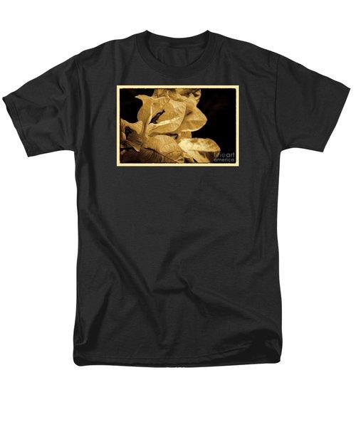 Men's T-Shirt  (Regular Fit) featuring the photograph Paper Petals by Pamela Blizzard