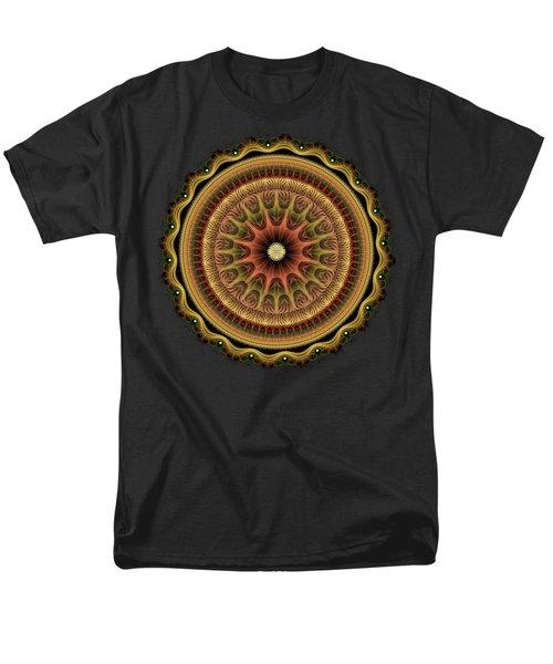 Men's T-Shirt  (Regular Fit) featuring the digital art Paper Shield by Anastasiya Malakhova