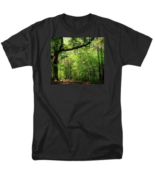 Paris Mountain State Park South Carolina Men's T-Shirt  (Regular Fit) by Bellesouth Studio