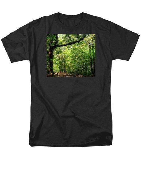 Paris Mountain State Park South Carolina Men's T-Shirt  (Regular Fit)