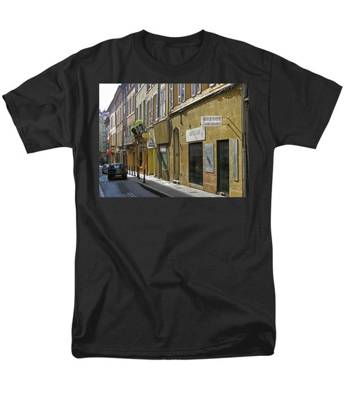 Paris Street Scene Men's T-Shirt  (Regular Fit) by Jim Mathis