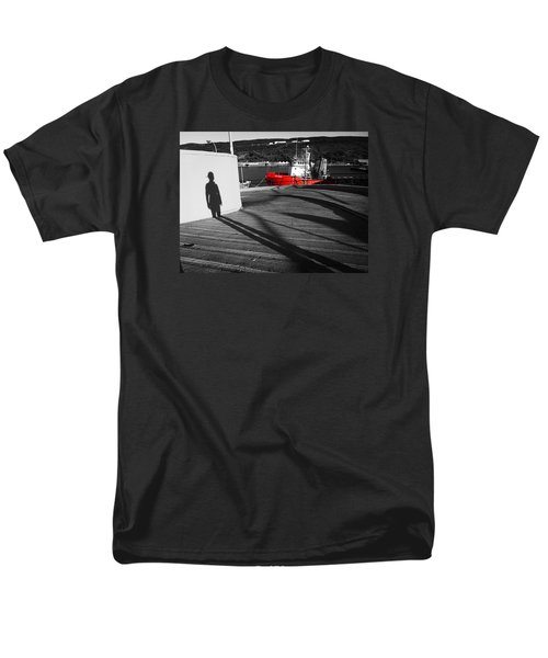 Men's T-Shirt  (Regular Fit) featuring the photograph Parting by Zinvolle Art