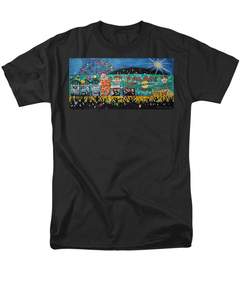Men's T-Shirt  (Regular Fit) featuring the painting Party At The Palace by Patricia Arroyo