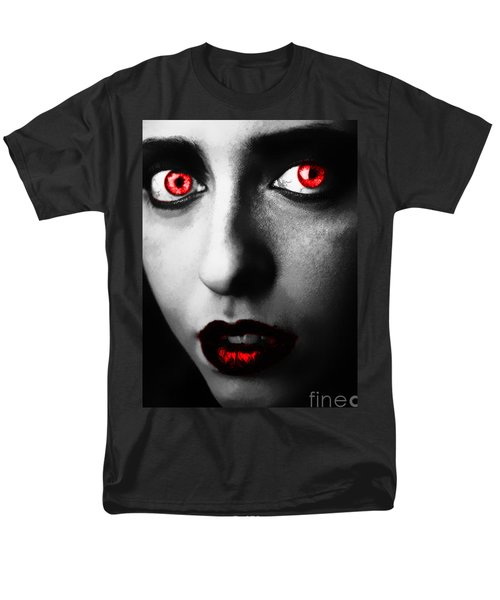 Men's T-Shirt  (Regular Fit) featuring the painting Passion Glare by Tbone Oliver