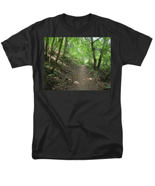 Men's T-Shirt  (Regular Fit) featuring the photograph Path By The River by Ben Upham III