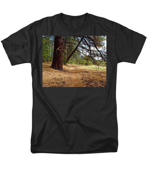 Men's T-Shirt  (Regular Fit) featuring the photograph Path To Enlightenment 1 by Ben Upham III