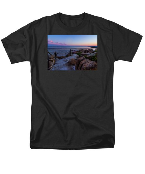 Path To The Beach Men's T-Shirt  (Regular Fit) by Tim Kirchoff
