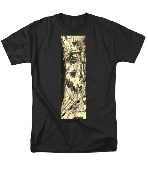 Men's T-Shirt  (Regular Fit) featuring the painting Patience by Carol Rashawnna Williams