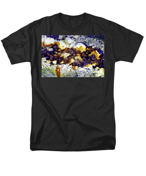 Men's T-Shirt  (Regular Fit) featuring the photograph Patterns In Stone - 212 by Paul W Faust - Impressions of Light