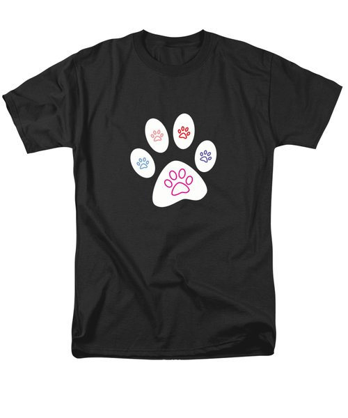 Paws Men's T-Shirt  (Regular Fit) by Bill Owen