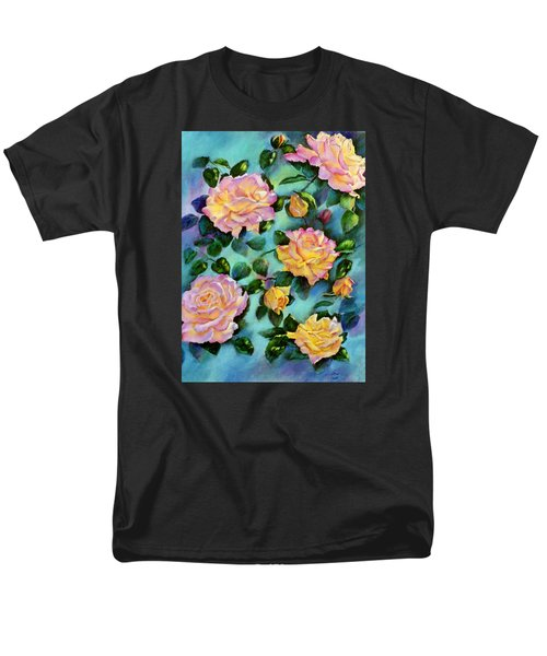 Men's T-Shirt  (Regular Fit) featuring the pastel Peace Opus by Ann Peck
