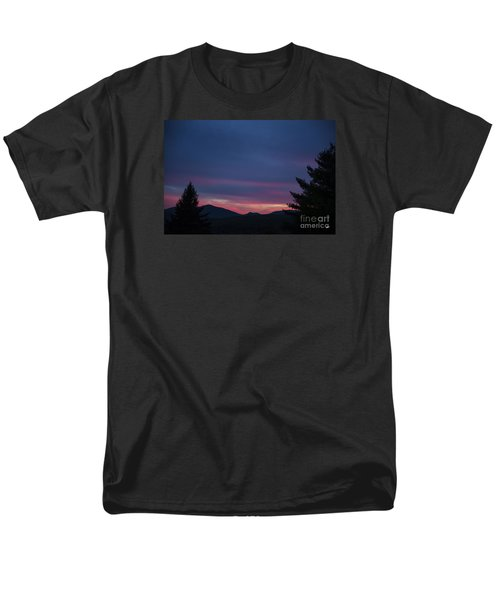 Men's T-Shirt  (Regular Fit) featuring the photograph Peaks by Alana Ranney