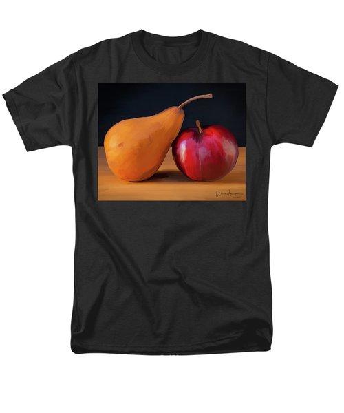 Pear And Plum 01 Men's T-Shirt  (Regular Fit) by Wally Hampton