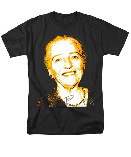 Men's T-Shirt  (Regular Fit) featuring the digital art Pearl Buck by Asok Mukhopadhyay
