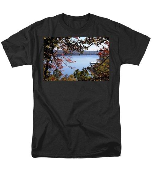 Peek-a-view Men's T-Shirt  (Regular Fit) by Betty Northcutt