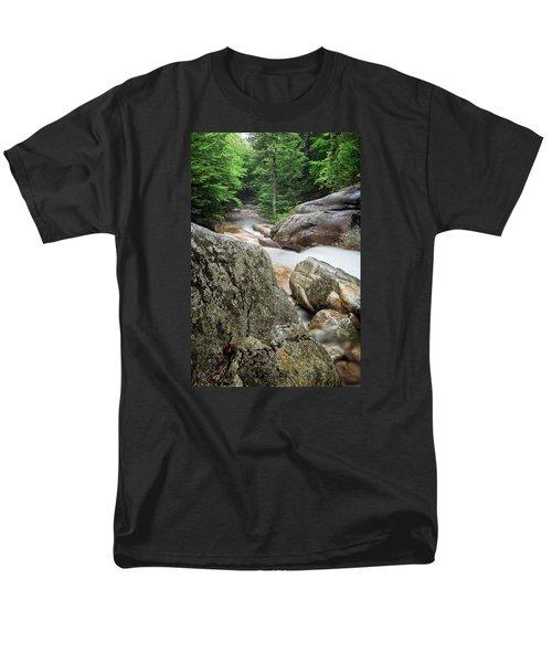 Pemi Above Basin Men's T-Shirt  (Regular Fit) by Michael Hubley