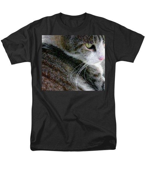 Pensive Men's T-Shirt  (Regular Fit) by Chuck Mountain