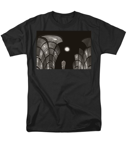 Men's T-Shirt  (Regular Fit) featuring the photograph Pensive Nude In A Surreal World by Joe Bonita