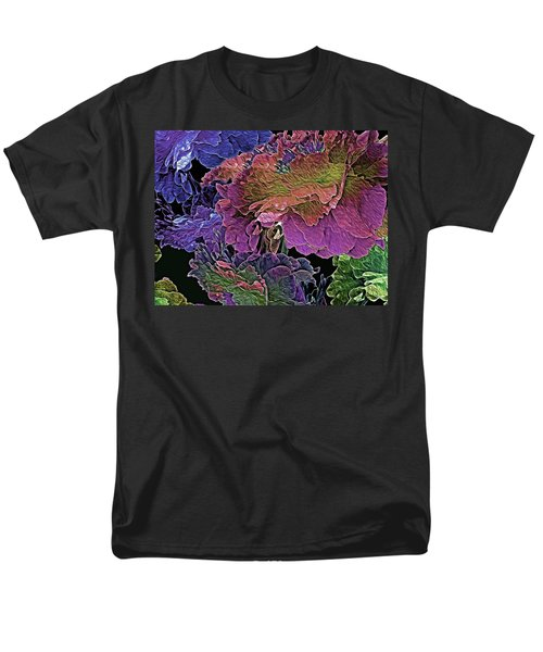 Peony Profusion 104 Men's T-Shirt  (Regular Fit) by Lynda Lehmann