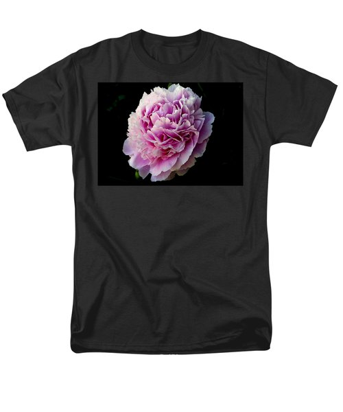 Men's T-Shirt  (Regular Fit) featuring the photograph Peony by Rhonda McDougall