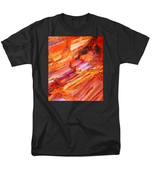 Petrified Abstraction No 1 Men's T-Shirt  (Regular Fit) by Andreas Thust