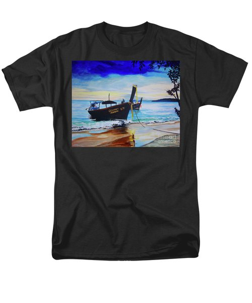 Phi Phi Men's T-Shirt  (Regular Fit) by Stuart Engel