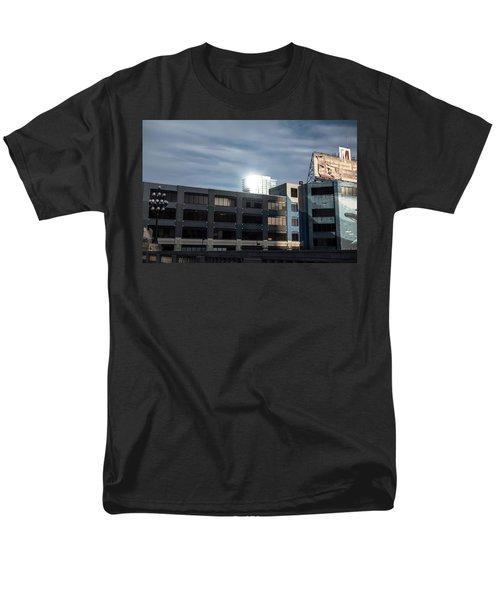 Men's T-Shirt  (Regular Fit) featuring the photograph Philadelphia Urban Landscape - 1195 by David Sutton