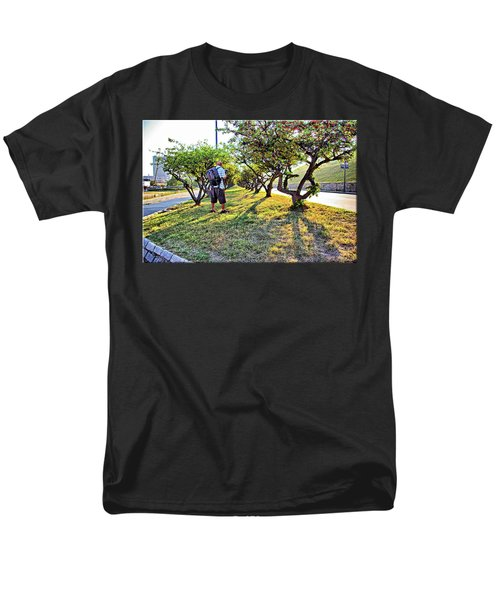 Men's T-Shirt  (Regular Fit) featuring the photograph Photographer by Brian Wallace